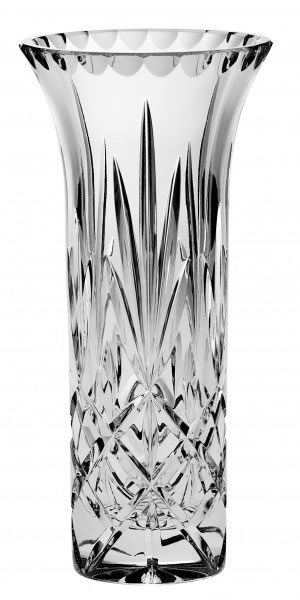 Bohemia Crystal Sheffield Trumpet Vase 20.5cm