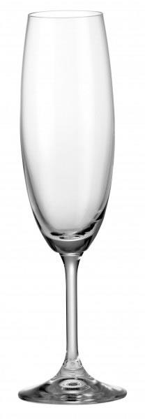 Bohemia Crystal Lara Flute 220ml/6pc