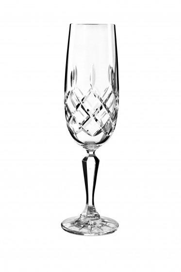 Bohemia Crystal Emmeline Flute 180ml/6pc