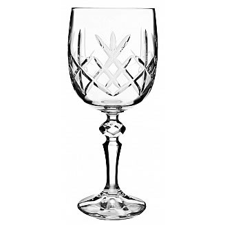 Bohemia Crystal Flamenco Goblet 220ml/6pc