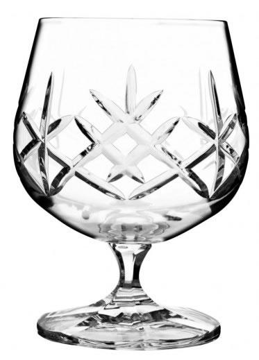 Bohemia Crystal Flamenco Brandy 250ml/6pc