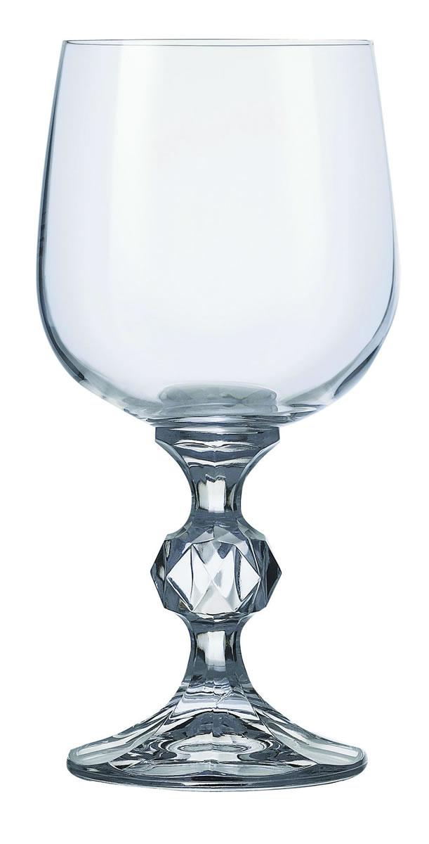 Crystal Goblet Wine Glasses