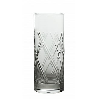 FMF Bohemia Bevel Hi-Ball Tumbler 370ml/4pc