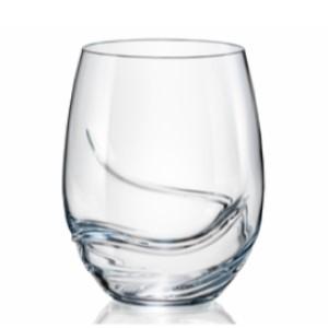 Bohemia Crystal Turbulence Stemless Wine 500ml/2PC