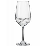 Bohemia Crystal Turbulence Wine 550ml/2PC