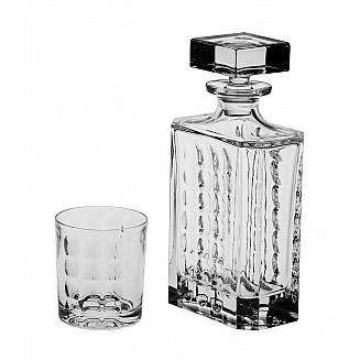 Bohemia Crystal Scale Whisky Set 1+6PC/SET