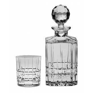 Bohemia Crystal Dover Whisky Set 1+6PC/SET