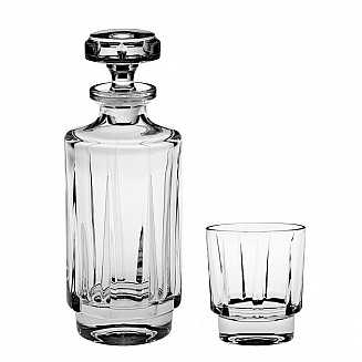 Bohemia Crystal Olivia Whisky Set 1+6PC/SET