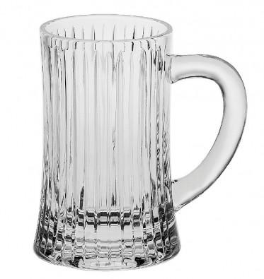 Bohemia Crystal Skyline Beer Mug 500ml