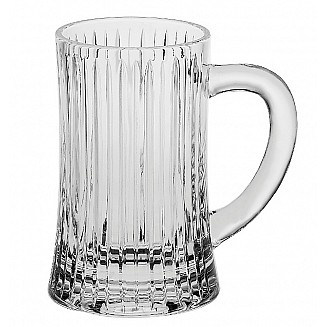 Bohemia Crystal Skyline Beer Mug 500ml