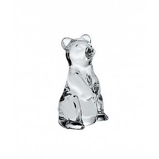Bohemia Crystal Bear Figurine 7cm