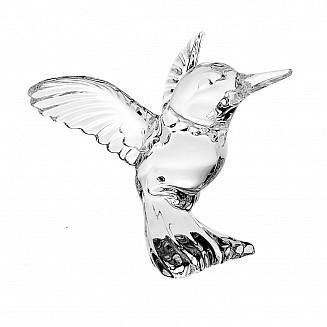Bohemia Crystal Hummingbird Figurine 8cm