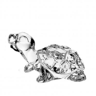 Bohemia Crystal Turtle Figurine 10cm