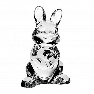 Bohemia Crystal Rabbit Figurine 10cm