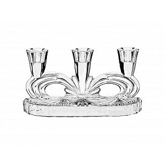Bohemia Crystal Candle Holder 3H 22.5CM