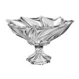 Bohemia Crystal Bromelias footed bowl 33cm