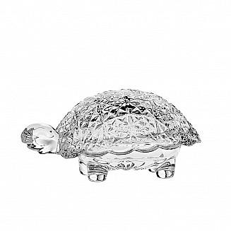 Bohemia Crystal Turtle box 12cm