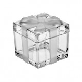 Bohemia Crystal Ribbon Box 7.2cm