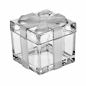 Bohemia Crystal Ribbon box 11.5cm
