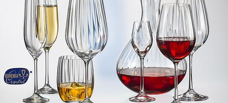For all your drinkware and tableware needs... Waterfall by Bohemia Crystal