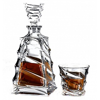 FMF Bohemia Casablanca OF whiskey set 1+6pc