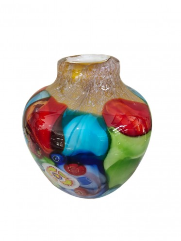 Crafted Art Glass Vase 24CM