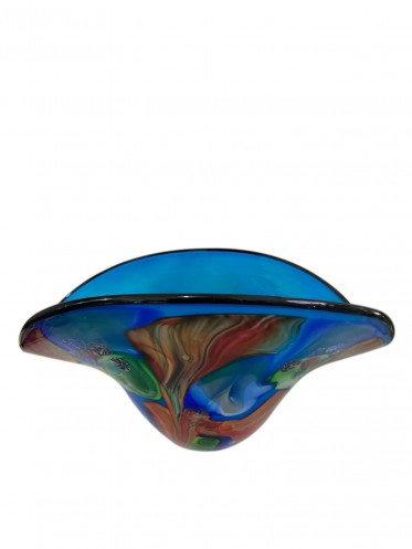 Crafted Art Glass Vase 20CM