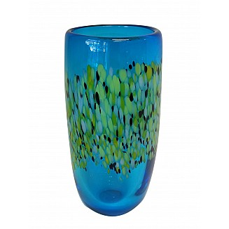 Crafted Art Glass Vase 32CM