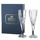 Bohemia Crystal Sheffield flute BLU180m 2p/SET