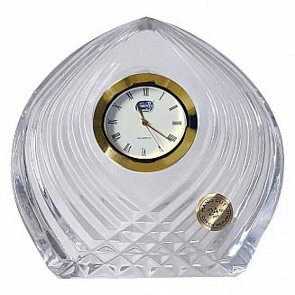 Bohemia Crystal Table Clock 9cm/1PC
